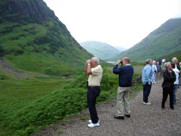 Group from Texas in Glencoe